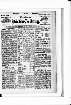 Berliner Börsen-Zeitung vom 25.04.1873