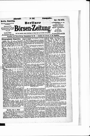 Berliner Börsen-Zeitung vom 01.05.1873