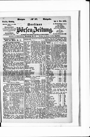 Berliner Börsen-Zeitung vom 04.05.1873