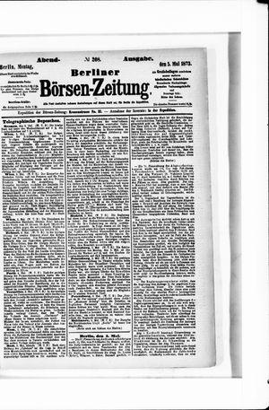 Berliner Börsen-Zeitung vom 05.05.1873