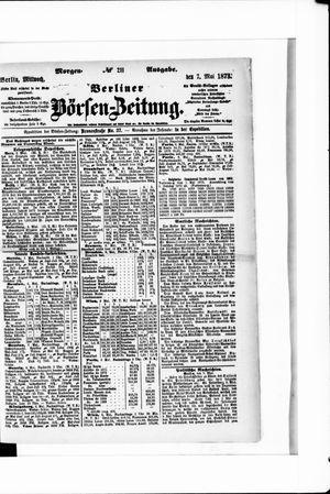 Berliner Börsen-Zeitung vom 07.05.1873