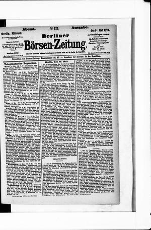 Berliner Börsen-Zeitung on May 14, 1873