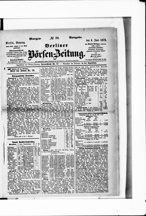 Berliner Börsen-Zeitung vom 08.06.1873