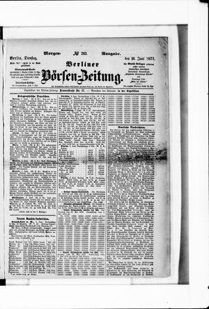 Berliner Börsen-Zeitung on Jun 10, 1873