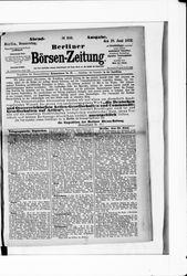 Berliner Börsenzeitung (19.06.1873)