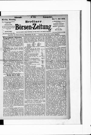 Berliner Börsen-Zeitung vom 08.07.1873