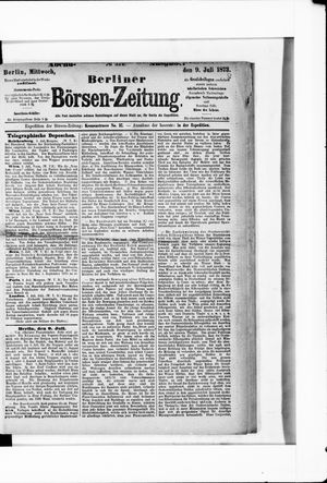 Berliner Börsen-Zeitung vom 09.07.1873