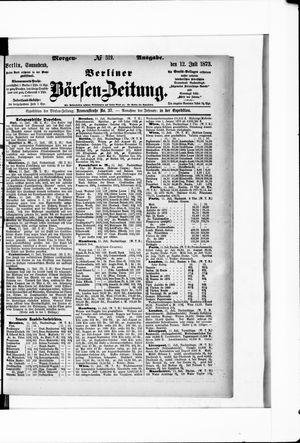 Berliner Börsen-Zeitung on Jul 12, 1873