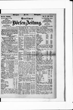 Berliner Börsen-Zeitung vom 13.07.1873