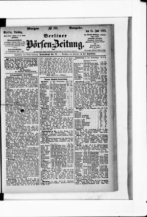Berliner Börsen-Zeitung vom 15.07.1873