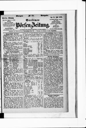 Berliner Börsen-Zeitung vom 16.07.1873