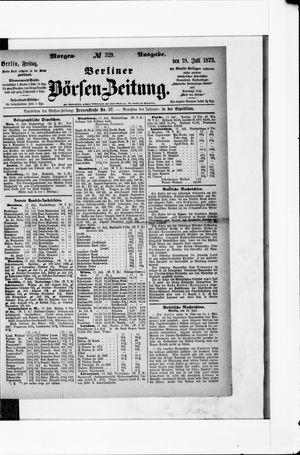 Berliner Börsen-Zeitung vom 18.07.1873