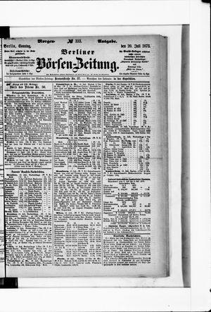 Berliner Börsen-Zeitung on Jul 20, 1873