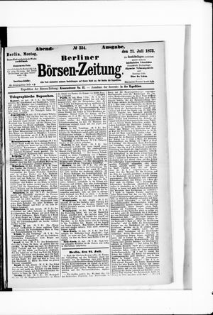Berliner Börsen-Zeitung vom 21.07.1873