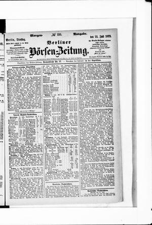 Berliner Börsen-Zeitung vom 22.07.1873