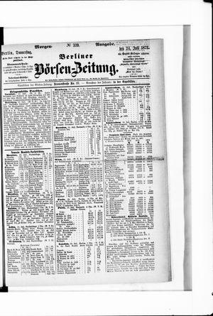 Berliner Börsen-Zeitung vom 24.07.1873