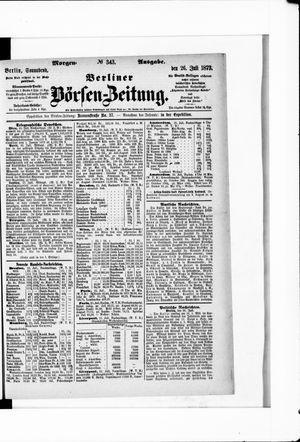 Berliner Börsen-Zeitung vom 26.07.1873