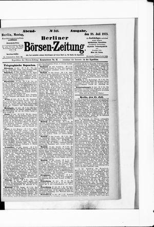 Berliner Börsen-Zeitung vom 28.07.1873