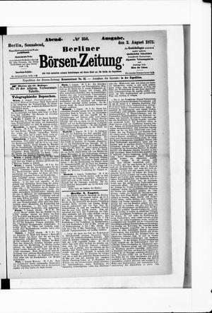 Berliner Börsen-Zeitung vom 02.08.1873