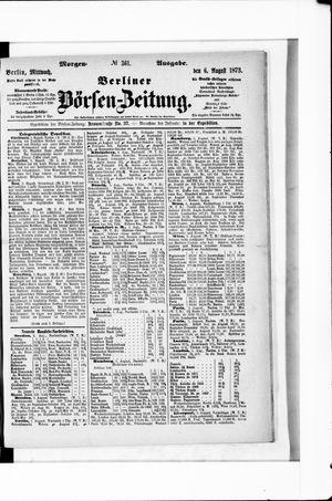 Berliner Börsen-Zeitung vom 06.08.1873