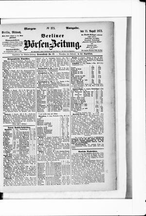 Berliner Börsen-Zeitung vom 13.08.1873