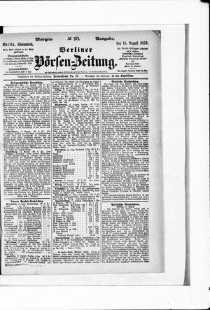 Berliner Börsen-Zeitung vom 16.08.1873