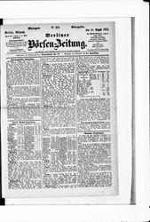 Berliner Börsenzeitung (20.08.1873)