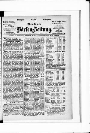 Berliner Börsen-Zeitung vom 24.08.1873