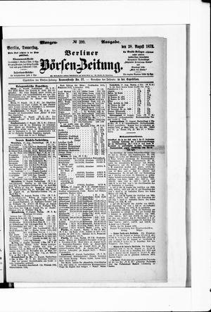 Berliner Börsen-Zeitung vom 28.08.1873