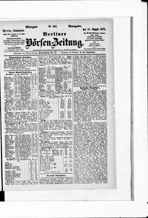 Berliner Börsen-Zeitung vom 30.08.1873