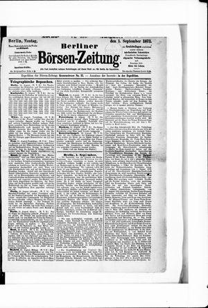 Berliner Börsen-Zeitung on Sep 1, 1873