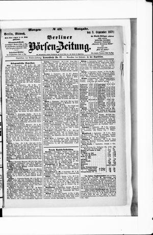 Berliner Börsen-Zeitung vom 03.09.1873