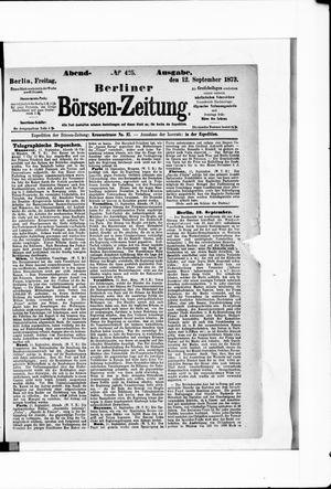 Berliner Börsen-Zeitung vom 12.09.1873