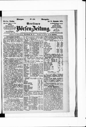 Berliner Börsen-Zeitung on Sep 16, 1873
