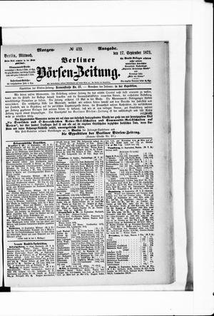 Berliner Börsen-Zeitung vom 17.09.1873