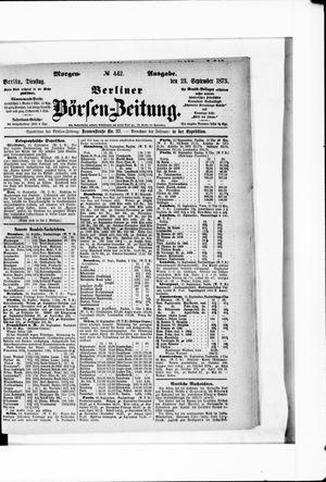 Berliner Börsen-Zeitung on Sep 23, 1873