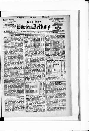 Berliner Börsen-Zeitung vom 30.09.1873