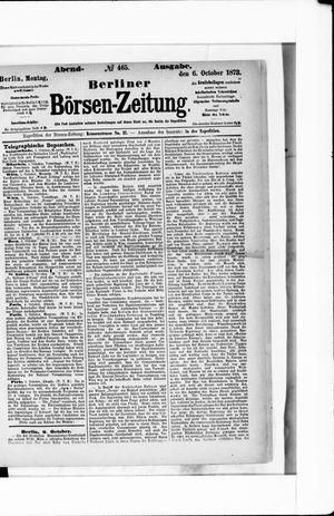 Berliner Börsen-Zeitung vom 06.10.1873