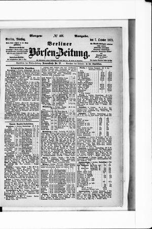 Berliner Börsen-Zeitung vom 07.10.1873