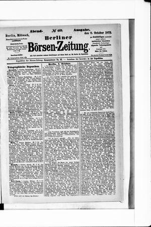 Berliner Börsen-Zeitung on Oct 8, 1873