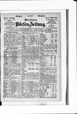 Berliner Börsen-Zeitung on Oct 9, 1873
