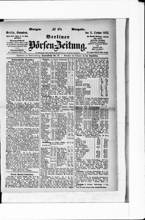 Berliner Börsen-Zeitung vom 11.10.1873