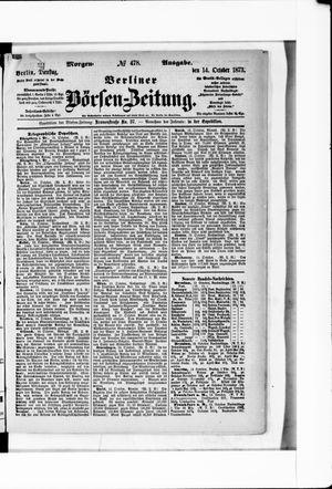 Berliner Börsen-Zeitung vom 14.10.1873