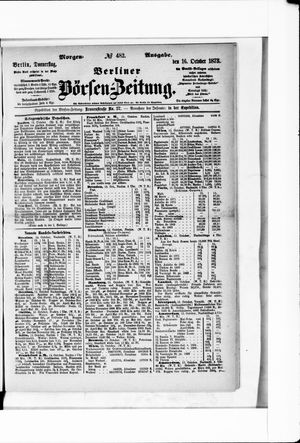 Berliner Börsen-Zeitung vom 16.10.1873