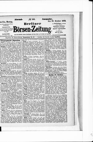 Berliner Börsen-Zeitung on Oct 27, 1873
