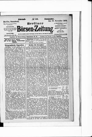 Berliner Börsen-Zeitung on Nov 29, 1873