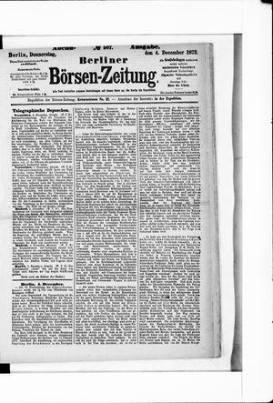 Berliner Börsen-Zeitung vom 04.12.1873