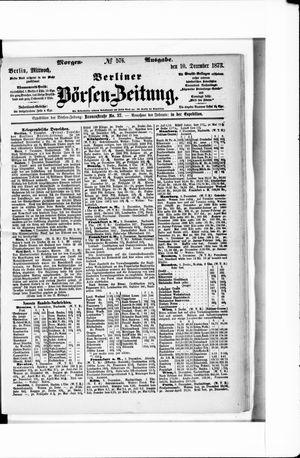 Berliner Börsen-Zeitung on Dec 10, 1873