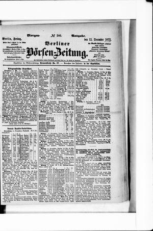 Berliner Börsen-Zeitung vom 12.12.1873