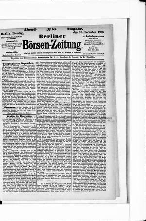 Berliner Börsen-Zeitung on Dec 16, 1873
